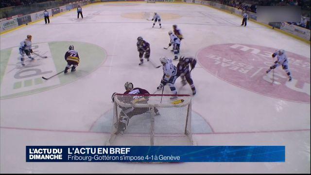 Fribourg-Gottéron s'impose 4-1 à Genève