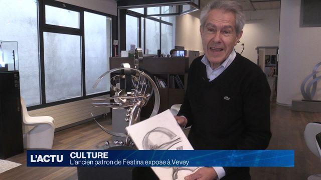 L'ancien patron de Festina expose à Vevey
