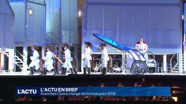 Nouvelle formule pour Avenches Opéra