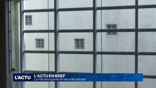 Rôle des agents de sécurité privés dans les prisons.