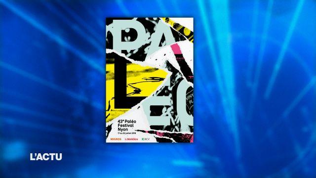 Le Paléo dévoile son affiche 2018