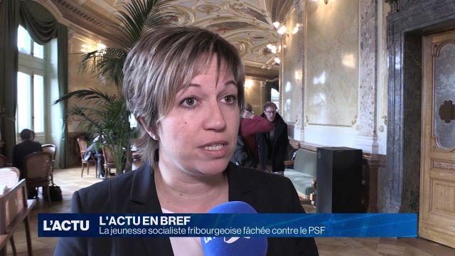 La jeunesse socialiste fribourgeoise fâchée contre le PSF