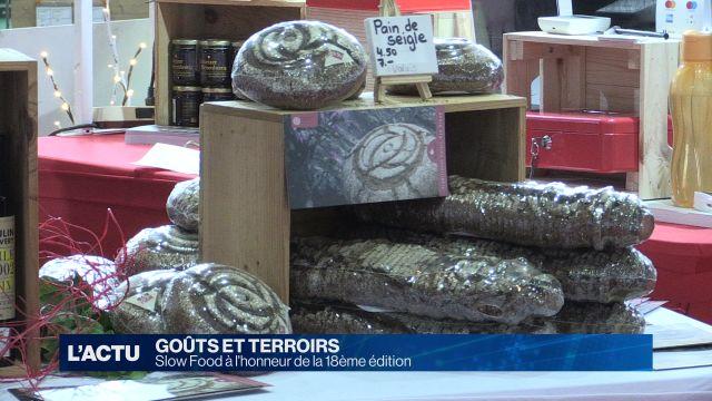 Slow Food à l'honneur du Salon des Goûts et Terroirs