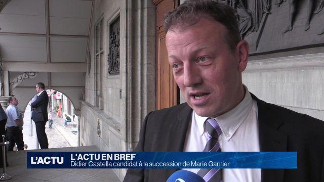 Didier Castella candidat à la succession de Marie Garnier