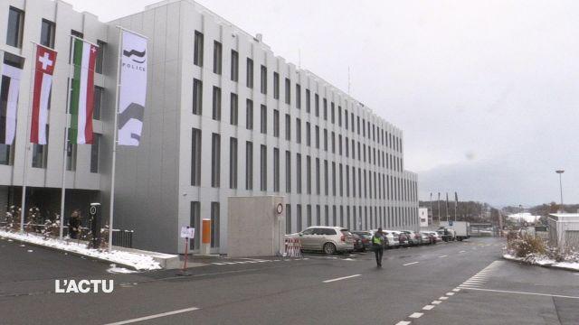 Un nouveau bâtiment pour la police fribourgeoise