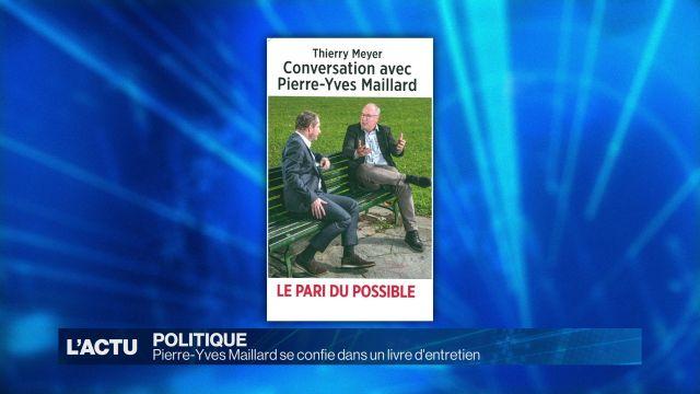 Pierre-Yves Maillard se confie dans un livre d'entretien