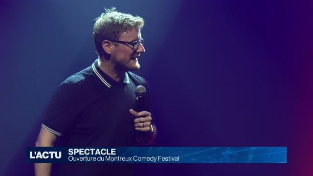 Début du Montreux Comedy Festival