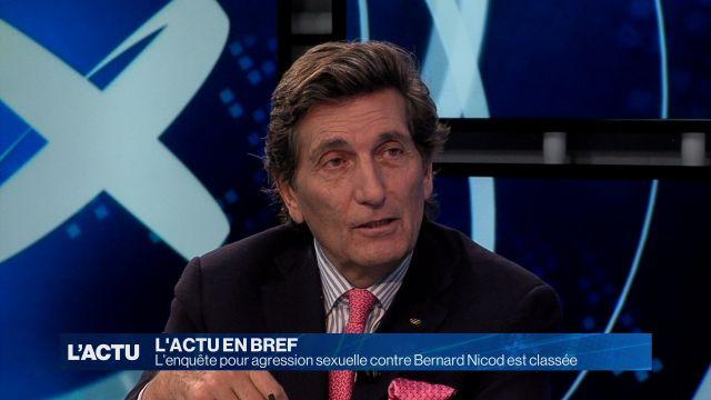 La dénonciation contre Bernard Nicod est classée