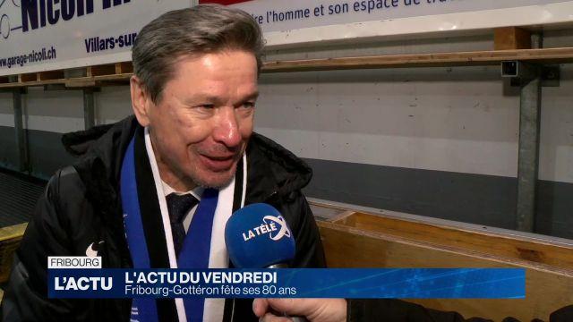 Fribourg-Gottéron fête ses 80 ans avec Slava Bykov