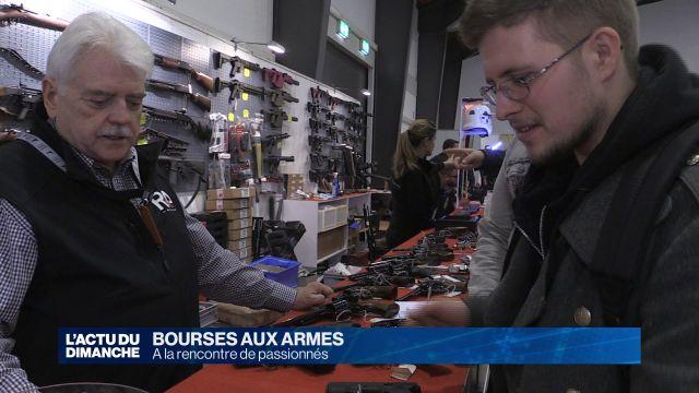 Bourse aux armes : le rendez-vous des passionnés