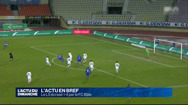Le LS écrasé par le FC Bâle 1-4