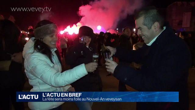 La fête sera moins folle au Nouvel-An veveysan