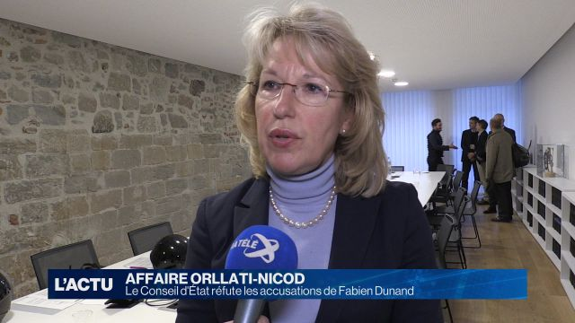 Le Conseil d'État réfute les accusations de Fabien Dunand