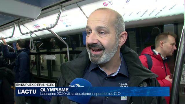 Lausanne 2020 vit sa deuxième inspection du CIO