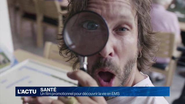 Un film promotionnel pour découvrir la vie en EMS