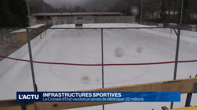 22 millions pour les infrastructures sportives vaudoises