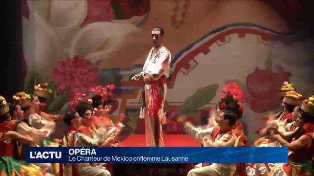 Le Chanteur de Mexico enflamme l'Opéra de Lausanne