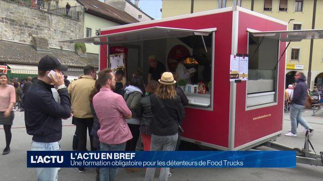 Une formation obligatoire pour les détenteurs de Food Trucks