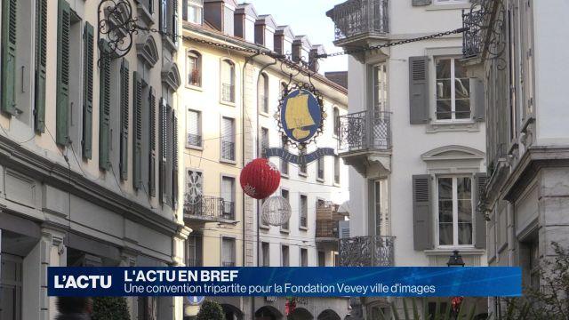 Une convention pour la Fondation Vevey ville d'images