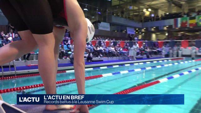 Records battus à la Lausanne Swim Cup