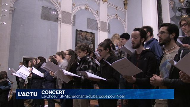 Le Choeur St-Michel chante du baroque