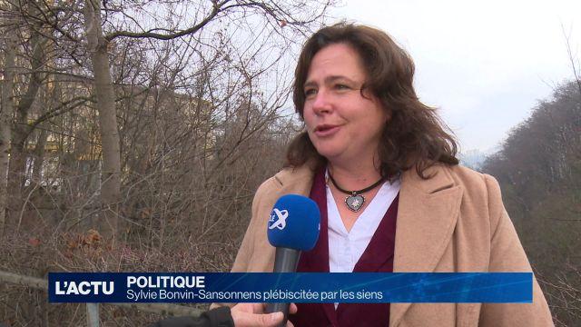 Sylvie Bonvin-Sansonnens dans la course au Conseil d'Etat