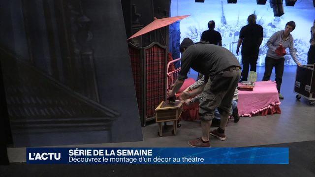 À la découverte des métiers de l'ombre du théâtre