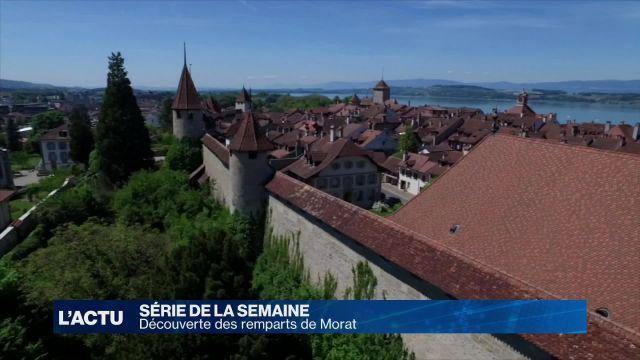 Découverte du centre historique de Morat