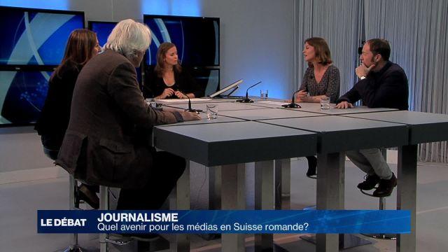 Inquiétudes autour de l'avenir des médias en Suisse romande