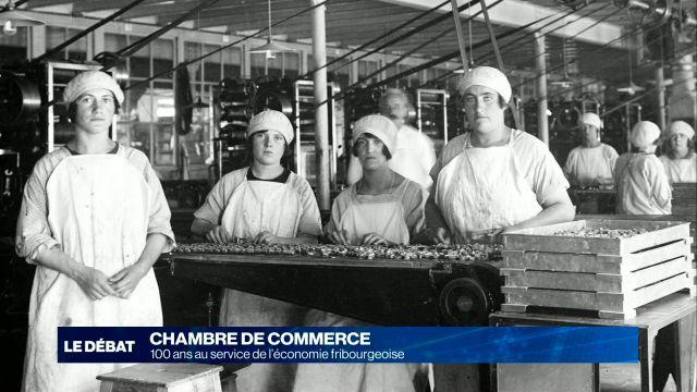Chambre de commerce: 100 ans pour l'économie fribougeoise