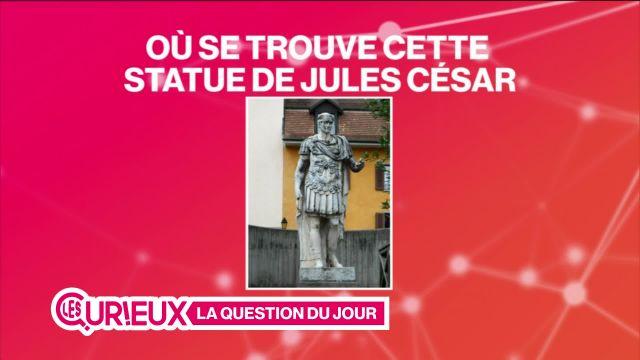 Où se trouve cette statue de Jules César ?