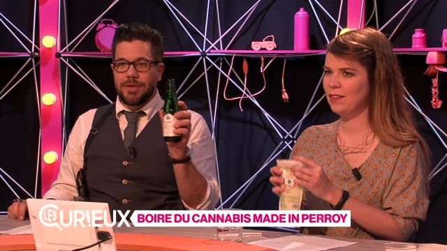 Boire du cannabis made in Perroy