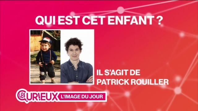 Patrick Rouiller lorsqu'il était enfant