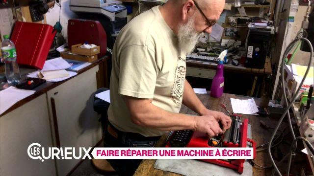Faire réparer une machine à écrire