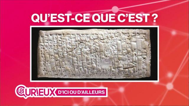 Une lettre vieille de 3'750 ans