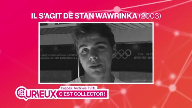 La première interview télévisée de Stan Wawrinka