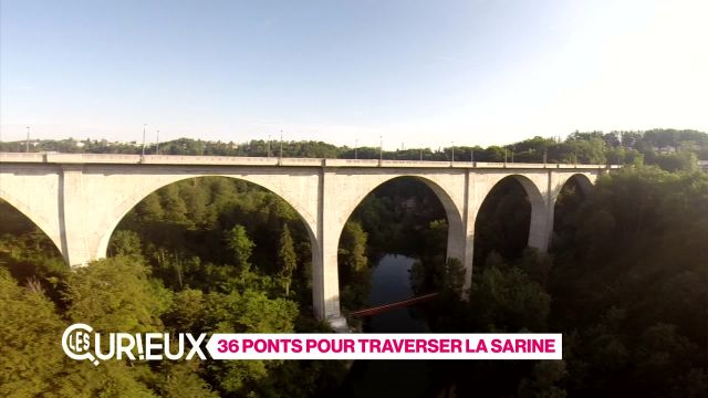 36 ponts pour traverser la Sarine