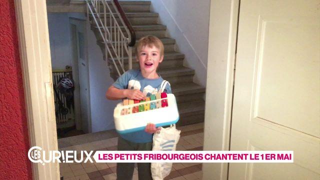 Les petits Fribourgeois chantent le 1er mai