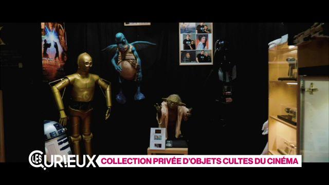 Collection privée d'objets cultes du cinéma