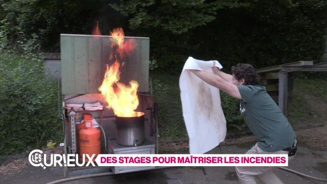Des stages pour maîtriser les incendies