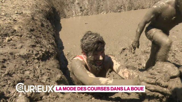 La mode des courses dans la boue