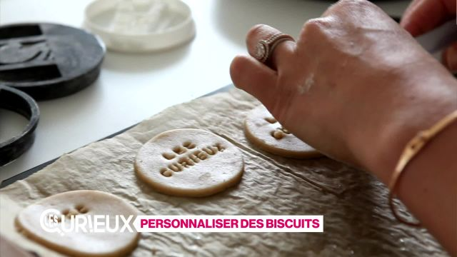 Personaliser des biscuits