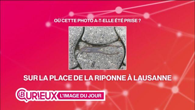 La mystérieuse pince de la Riponne à Lausanne