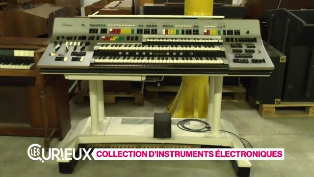 Collection extraordinaire d'instruments électroniques