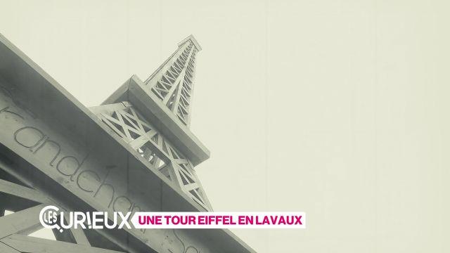 Une tour Eiffel à Puidoux