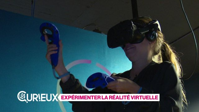Les Curieux testent la réalité virtuelle