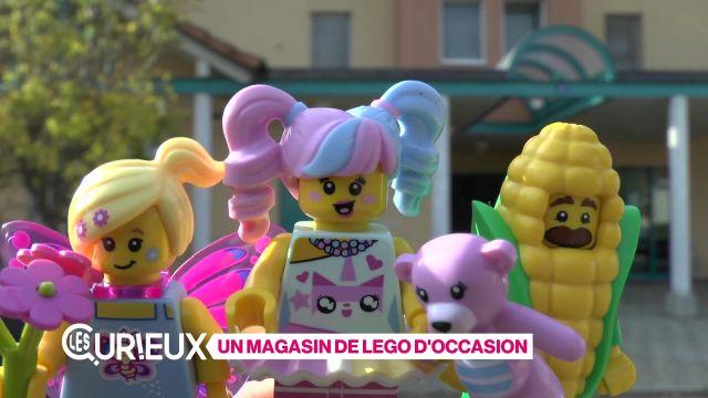 Un magasin de Lego d'occasion
