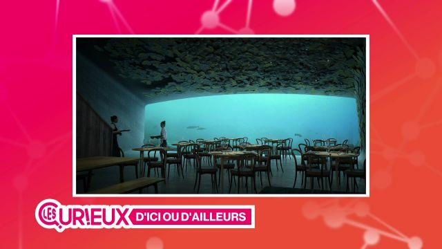 Un restaurant sous l'eau