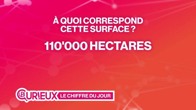 110'000 hectares de surface agricole dans le canton de Vaud