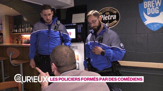 Des policiers formés par des comédiens